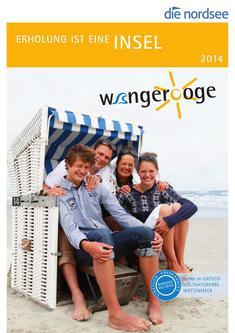 Wangerooge-Katalog für 2014 inklusive Gastgeberverzeichnis