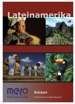 Reisekatalog Lateinamerika