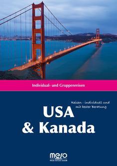 Reisekatalog USA / Kanada ab 2014