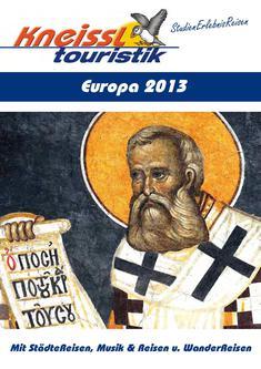 Europa Reisen 2013