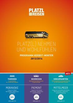 Busreisen 2013/2014
