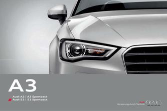 Audi A3  | A3 Sportback 2014