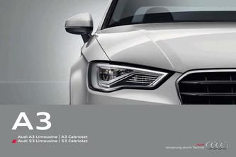 Audi A3 Limousine  | A3 Cabriolet 2014