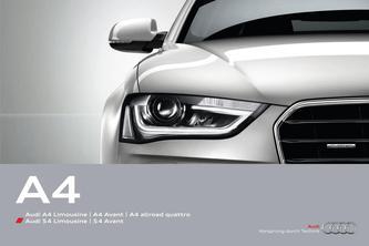 Audi A4 Limousine  | A4 Avant  | A4 allroad quattro 2014