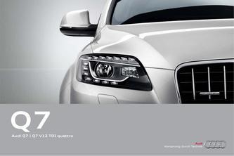 Audi Q7 | Q7 V12 TDI quattro 2014