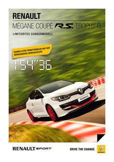 Renault Megane Coupe RS Thropy-R 2015