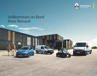 Renault Z.E. Informationsbroschüre September 2018