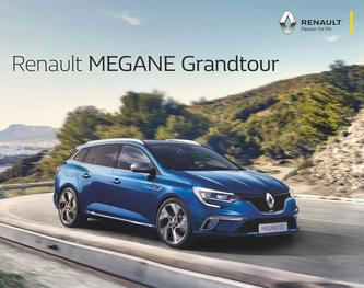 Renault MEGANE Grandtour April 2018