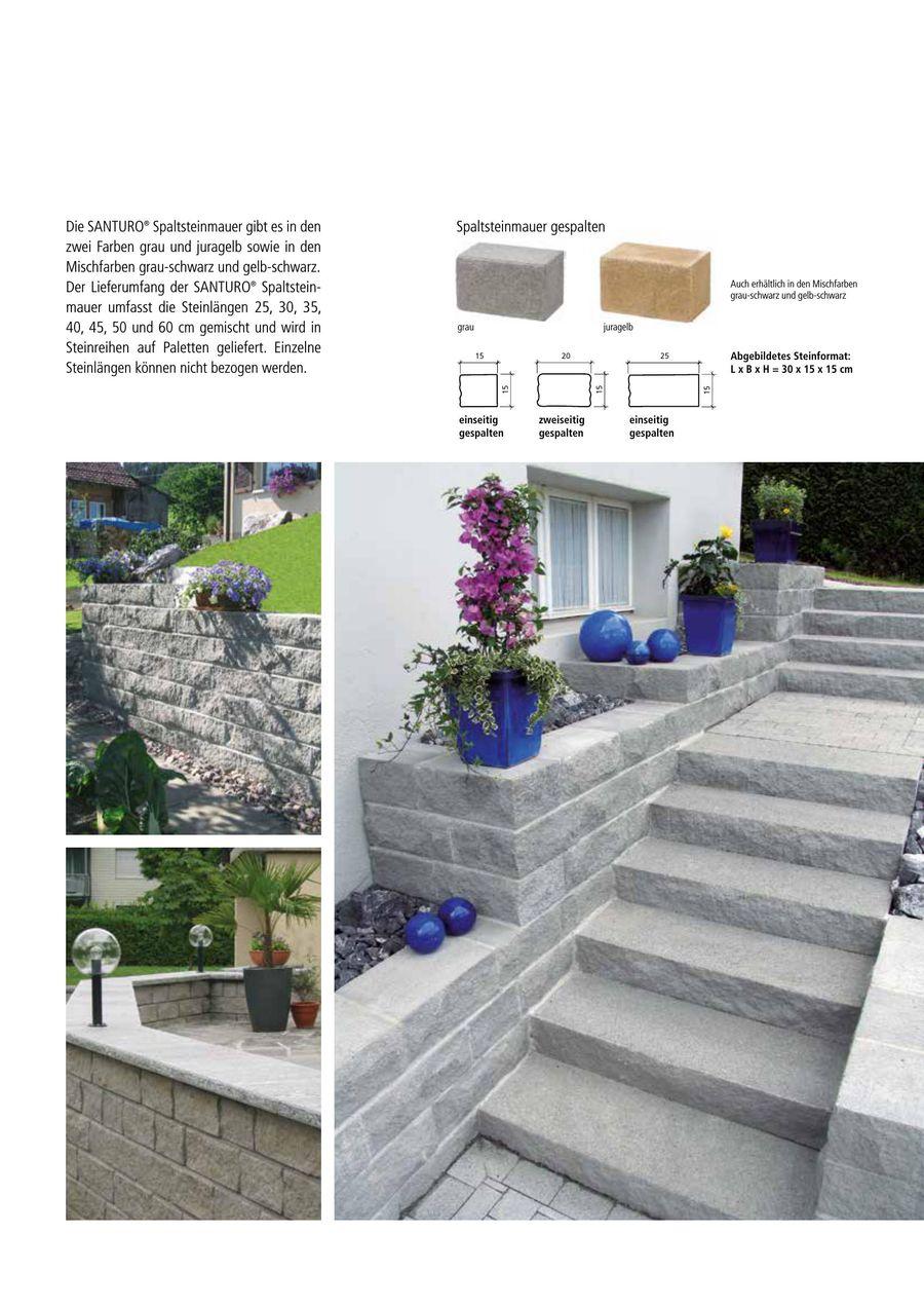 Seite 20 von SANTURO® Mauersystem 20