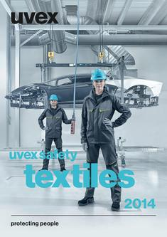 uvex safety textiles 2015