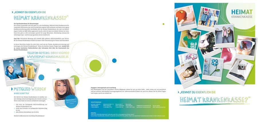Azubi Broschure Von Heimat Krankenkasse