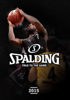 Spalding Basketball 2015