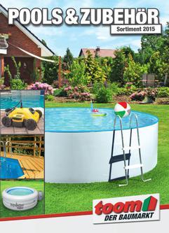 Schwimmbecken kataloge for Toom baumarkt garten pool
