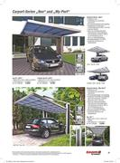Carport 3 x 5 in carports 2015 von toom baumarkt for Baumarkt carport