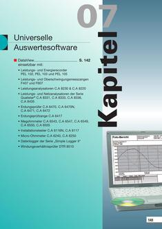 Universelle Auswertesoftware 2015