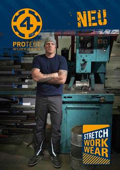 4PROTECT® Stretch-Workwear 2014