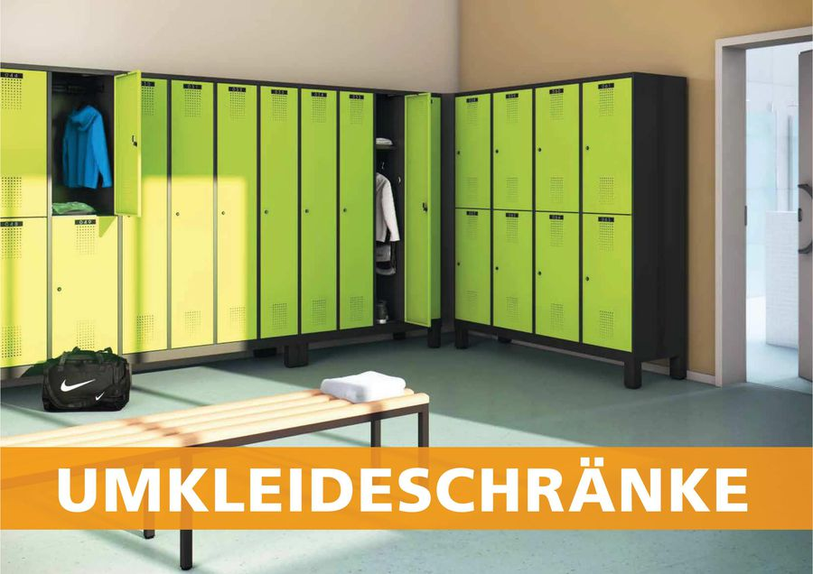 Umkleideschränke und Spinde - Teil 1 2016/17 von Makk
