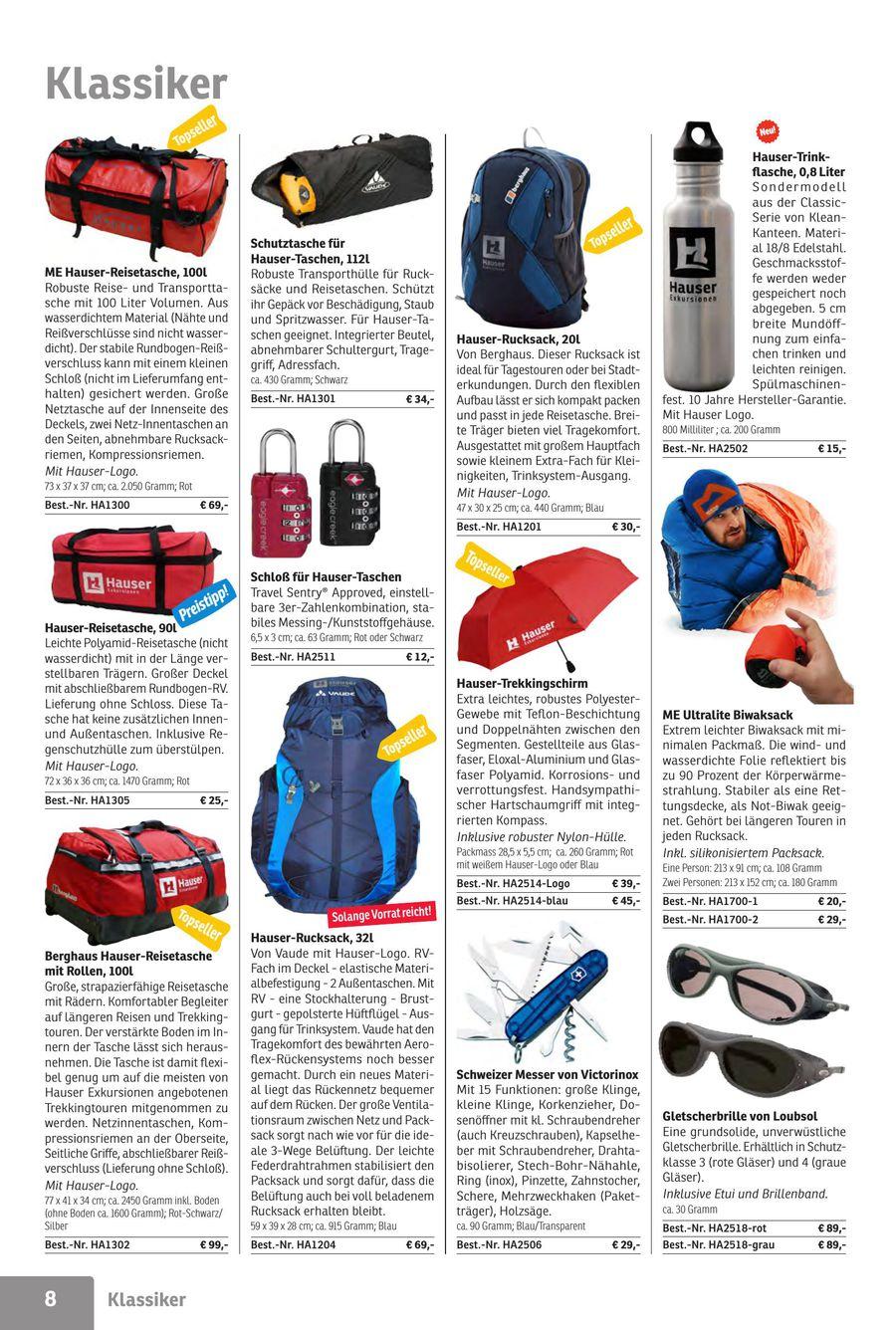 buy popular 6c7ec eba08 Seite 8 von Hauser-Shop 2016