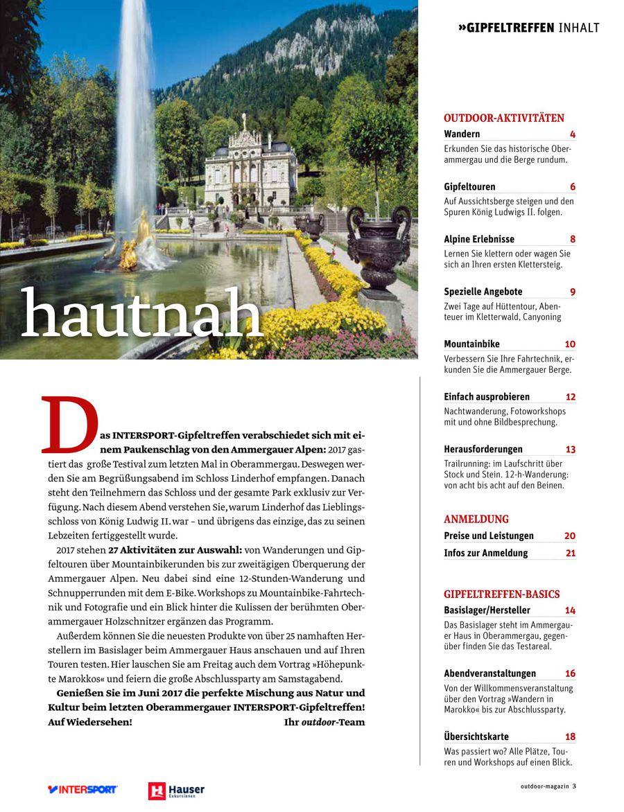 a9a9abd0b8e1b0 Gipfeltreffen Magazin 2017 von Hauser Exkursionen