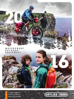 Waterproof Outdoor Equipment 2016