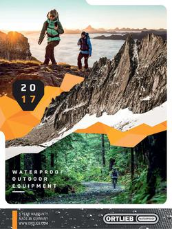 Waterproof Outdoor Equipment 2017 (Schweiz)