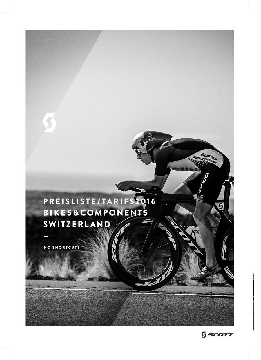 3e1eede70 Scott Bikes Preisliste 2016 von TS-Velos