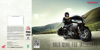 Gold Wing F6B Interstate 2013