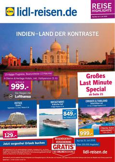Reise Highlights Juli 2016