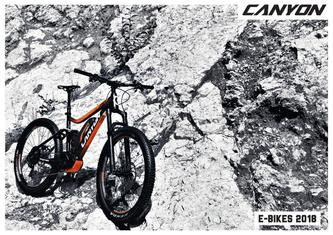 Canyon E-Bike Katalog 2018