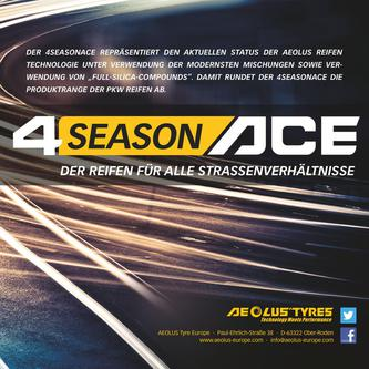 4SeasonACE AA01 Reifen 2016