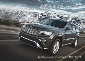 Jeep Grand Cherokee Preisliste 2016
