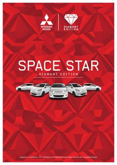 Space Star Diamant Edition Sondermodellprospekt 08/2015