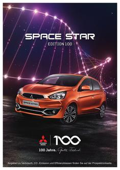 Space Star Edition 100 Sondermodellprospekt 02/2017
