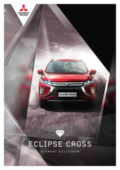 Eclipse Cross Diamant Editionen Sondermodellprospekt 08/2018