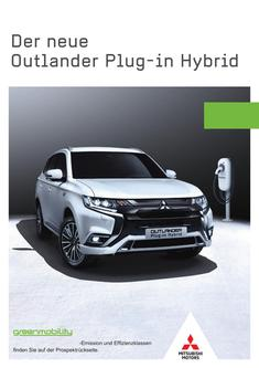 Outlander Plug-in Hybrid Vorabprospekt September 2018