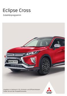 Eclipse Cross Zubehörprospekt 09/2019