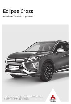 Eclipse Cross Zubehörpreisliste 09/2019