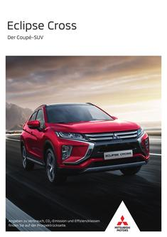 Eclipse Cross Modellprospekt 08/2019
