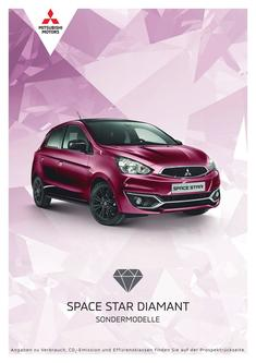 Space Star Diamant Sondermodellprospekt 07/2019