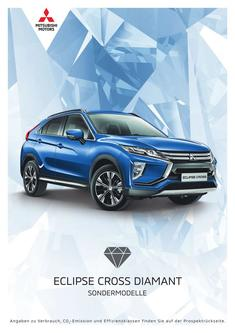 Eclipse Cross Diamant Sondermodellprospekt 07/2019