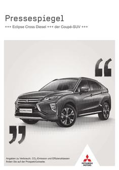 Eclipse Cross Presseflyer 07/2019
