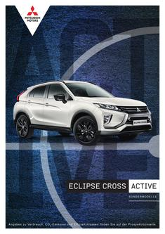 Eclipse Cross Active Sondermodellprospekt 02/2019