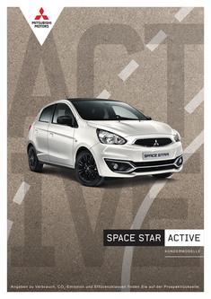 Space Star Active Sondermodellprospekt 02/2019