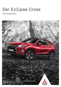 Eclipse Cross Modellprospekt 08/2018