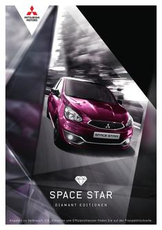 Space Star Diamant Edition Sondermodellprospekt 08/2018