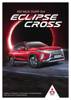 Eclipse Cross Vorabprospekt 09/2017