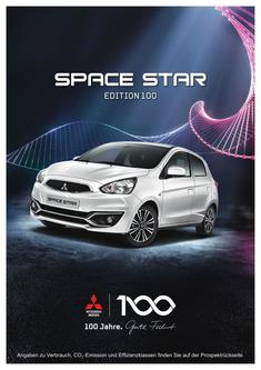 Space Star Edition 100 Sondermodellprospekt 08/2017