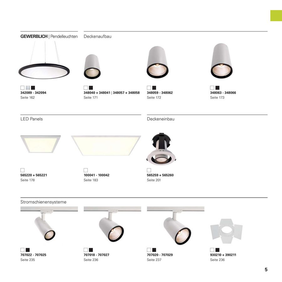 LED Impressions 20 von Deko Light