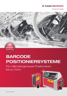 Barcode Positioniersysteme 2016