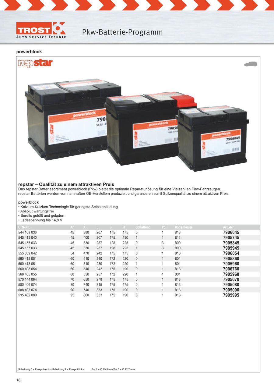 Seite 18 Von Batterie Programm 2016